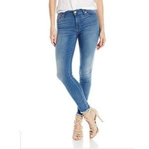 7 for all mankind jeans the ankle skinny jeans 25
